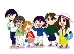 azumanga_daioh cartoon cute group kagura kasuga_ayumu mihama_chiyo mizuhara_koyomi osaka sakaki takino_tomo