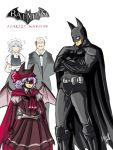 alfred_pennyworth artist_request bat_wings batman batman:_arkham_asylum batman_(cosplay) batman_(series) butler cosplay crossover dc_comics izayoi_sakuya maid remilia_scarlet shocked_eyes touhou wings
