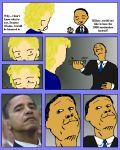 barack_obama card_crusher hillary_clinton tagme