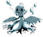 frillish no_humans pokemon pokemon_(creature) simple_background white_background yamipika