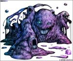 artist_name dated grimer kei-suwabe muk no_humans open_mouth pokemon pokemon_(game)