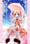 candy choker dress frills gathers lolita_fashion lollipop red_shoes ribbon striped striped_legwear sweet_lolita swirl_lollipop tail thigh-highs thighhighs tinker_bell twintails umbrella