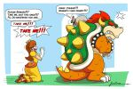 bag bowser fuboz kidnapped nintendo princess_daisy princess_peach translated