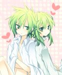 androgynous green_eyes green_hair heart ion male multiple_boys riichu smile sync tales_of_(series) tales_of_the_abyss