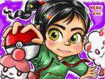 candy pokeball_symbol pokemon slurpuff_(pokemon) swirlix vanellope_von_schweetz
