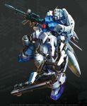 beam_rifle energy_gun gundam gundam_0083 gundam_gp-03_stamen mecha no_humans weapon