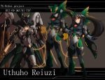 mecha mechanization pilot reiuji_utsuho rekise touhou zone_of_the_enders
