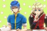 2boys blonde_hair blue_eyes blue_hair book fire_emblem fire_emblem:_monshou_no_nazo ichiori intelligent_systems marth monolith_soft nintendo shulk sora_(company) super_smash_bros. super_smash_bros_for_wii_u_and_3ds tagme xenoblade xenoblade_(series)