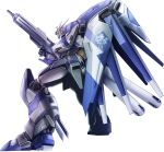 akatsuki_senbei beam_machinegun char's_counterattack char's_counterattack_-_beltorchika's_children energy_gun gundam hi-nu_gundam highres mecha no_humans shield weapon