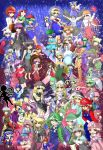 1boy :d :o ;p absurdres alice_margatroid animal_ears arm_cannon bandages barefoot black_hair black_wings blonde_hair blush book bow bowser bowser_(cosplay) bowser_jr. bowser_jr._(cosplay) bowtie braid breasts captain_falcon captain_falcon_(cosplay) cellphone charizard charizard_(cosplay) cleavage cosplay crystal dark_pit dark_pit_(cosplay) diddy_kong diddy_kong_(cosplay) dog_(duck_hunt) dog_(duck_hunt)_(cosplay) donkey_kong donkey_kong_(cosplay) dr._mario dr._mario_(cosplay) drumsticks dual_persona fairy_wings falco_lombardi falco_lombardi_(cosplay) fire flower fox_mccloud fox_mccloud_(cosplay) fox_tail frog fujiwara_no_mokou ganondorf ganondorf_(cosplay) gloves grass green_hair greninja greninja_(cosplay) hair_bow hakure_reimu hat hata_no_kokoro headphones heart helmet hieda_no_akyuu highres hijiri_byakuren himekaidou_hatate hinanawi_tenshi hong_meiling horikawa_raiko hoshiguma_yuugi houjuu_nue hourai_doll houraisan_kaguya ibaraki_kasen ike ike_(cosplay) inaba_tewi inoueoyu_(artist) inubashiri_momiji izayoi_sakuya jigglypuff jigglypuff_(cosplay) kagiyama_hina kasodani_kyouko kawashiro_nitori kazami_yuuka kijin_seija king_dedede king_dedede_(cosplay) kirby kirby_(cosplay) kirisame_marisa kisume kochiya_sanae komeiji_koishi komeiji_satori konpaku_youmu koopa_clown_car lance lily_black lily_white link little_mac little_mac_(cosplay) long_hair long_pants lucario lucario_(cosplay) lucina lucina_(cosplay) luigi luigi_(cosplay) luna_child mario mario_(cosplay) marth marth_(cosplay) mask meta_knight meta_knight_(cosplay) mewtwo mewtwo_(cosplay) mii_(nintendo) mii_(nintendo)_(cosplay) miyako_yoshika mob_cap monado morichika_rinnosuke moriya_suwako mr._game_&_watch mr._game_&_watch_(cosplay) my_unit my_unit_(cosplay) nagae_iku nazrin needle ness ness_(cosplay) net nintendo olimar olimar_(cosplay) onbashira one_eye_closed open_mouth orange_hair overalls pac-man pac-man_(cosplay) palutena palutena_(cosplay) pants patchouli_knowledge phone pikachu pikachu_(cosplay) pikmin_(creature) pikmin_(creature)_(cosplay) pink_hair pit_(kid_icarus) pit_(kid_icarus)_(cosplay) polearm pose princess_peach princess_peach_(cosplay) princess_zelda princess_zelda_(cosplay) purple_hair r.o.b rabbit_ears red_gloves redhead reisen_udongein_inaba reiuji_utsuho ribbon rockman_(character) rockman_(character)_(cosplay) rosalina_(mario) rosalina_(mario)_(cosplay) rumia saigyouji_yuyuko samus_aran samus_aran_(cosplay) sekibaracheice shameimaru_aya shanghai_doll sheik sheik_(cosplay) shield shiki_eiki short_hair shulk silver_hair skirt sleeveless smile snake sonic sonic_(cosplay) star star_sapphire straw_hat sukuna_shinmyoumaru sunny_milk super_smash_bros. suspenders sweat sword tail third_eye toad toga tokin_hat tongue tongue_out toon_link toon_link_(cosplay) touhou toyosatomimi_no_miko villager_(doubutsu_no_mori) villager_(doubutsu_no_mori)_(cosplay) wario wario_(cosplay) weapon white_gloves wii_fit_trainer wii_fit_trainer_(cosplay) wings witch_hat yagokoro_eirin yakumo_ran yakumo_yukari yasaka_kanako yawning yoshi yoshi_(cosplay) zero_suit