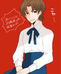 1boy brown_eyes brown_hair cosplay fate/stay_night fate_(series) kotomine_kirei saber_(cosplay) solo suzuko_(star8383)