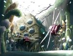 background bugs forest ghibli insect kaze_no_tani_no_nausicaa monster nature no_humans ohmu scenery studio_ghibli tk914 wings