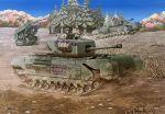 churchill_(tank) earasensha military military_vehicle scenery tagme tank vehicle