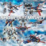 3d akuu_daisakusen_srungle energy energy_cannon english mecha realistic science_fiction space_craft srungle_(mecha) starfighter transformation