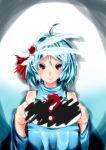 ? absurdres blue_hair commentary_request highres niku_tsutsumi_k original plate