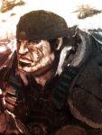 bandana cong1991 gears_of_war highres male manly marcus_fenix scar