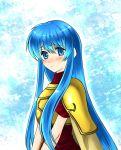 armor blue_eyes blue_hair blush cape eirika fire_emblem fire_emblem:_seima_no_kouseki fire_emblem_sacred_stones long_hair very_long_hair xvxxv