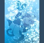 blade_(artist) blade_(lovewn) blue bubble demon_tail demon_wings elbow_gloves gloves legs_up navel original pillarboxed pointy_ears solo tail thigh-highs thighhighs twintails underwater wet_clothes wings