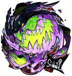 artist_name highres no_humans pokemon pokemon_(creature) sido_(slipknot) simple_background solo spiritomb white_background