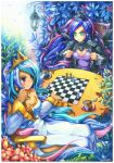 board_game celestia_(my_little_pony) chess emperpep luna_(my_little_pony) my_little_pony my_little_pony_friendship_is_magic