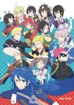 2015 6+boys 6+girls ahoge animal_ears armor azur_(fire_emblem) black_hair blue_eyes blue_hair braid breasts bredy_(fire_emblem) brown_eyes brown_hair chambray cleavage cynthia_(fire_emblem) degel eudes_(fire_emblem) fire_emblem fire_emblem:_kakusei green_hair grey_eyes grin jerome_(fire_emblem) laurent lucina mark_(fire_emblem) multiple_boys multiple_girls nn_(fire_emblem) noire_(fire_emblem) one_eye_closed open_mouth pointy_ears rabbit_ears red_eyes redhead selena_(fire_emblem) shougayaki_(kabayaki_3) silver_hair smile twin_braids twintails