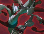 mega_mewtwo_x mega_mewtwo_y mewtwo niking no_humans pokemon pokemon_(creature)