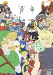armor bandage blonde_hair blue_eyes cape cloud_strife crossover demise dual_persona eliwood_(fire_emblem) ephraim father_and_daughter father_and_son female_my_unit_(fire_emblem_if) final_fantasy final_fantasy_iv final_fantasy_vi final_fantasy_vii final_fantasy_x final_fantasy_xiii final_fantasy_xv fire_emblem fire_emblem:_akatsuki_no_megami fire_emblem:_fuuin_no_tsurugi fire_emblem:_kakusei fire_emblem:_monshou_no_nazo fire_emblem:_rekka_no_ken fire_emblem:_seisen_no_keifu fire_emblem_if ganondorf gloves green_hair gun hairband hat headband ike kid_icarus kid_icarus_uprising krom lightning_farron link long_hair lucina male_my_unit_(fire_emblem_if) marth multiple_boys multiple_girls my_unit_(fire_emblem_if) noctis_lucis_caelum pink_hair pit_(kid_icarus) pointy_ears red_eyes redhead robot roy_(fire_emblem) sephiroth sheik short_hair shulk smile squall_leonhart super_smash_bros. sword tetra the_legend_of_zelda the_legend_of_zelda:_ocarina_of_time the_legend_of_zelda:_skyward_sword the_legend_of_zelda:_twilight_princess tidus violet_eyes weapon white_hair wings xenoblade young_link yuria_(fire_emblem)