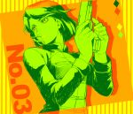 1girl bob_cut color_palette fate/zero fate_(series) gun hisau_maiya ruchi short_hair solo weapon