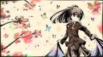 1girl heavens_thunder_(byakuya-part2) highres kantai_collection kumano_(kantai_collection) looking_at_viewer marker_(medium) signature solo traditional_media