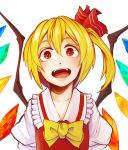 1girl flandre_scarlet kobaji looking_at_viewer touhou