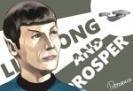 1boy black_hair leonard_nimoy pointy_ears retorillo science_fiction solo spock star_trek uniform vulcan