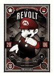 1boy artist_request facial_hair gloves hat mario mustache nintendo plumber propaganda super_mario_bros. tagme
