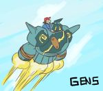 flying golurk pokemon rocket tagme