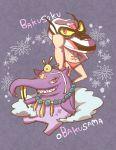 baku_(creature) bakusoku character_name obakusama red_eyes sharp_teeth umi_(srtm07) yellow_sclera youkai youkai_watch