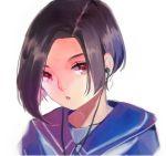 1girl earphones halfpeegue highres kobayakawa_rinko love_plus red_eyes school_uniform