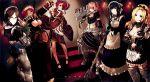 apron cz_delta entoma_vasilissa_zeta highres lupusregina_beta maid maid_apron maid_headdress multiple_girls narberal_gamma overlord_(maruyama) solution_epsilon yuri_alpha