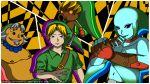 all-out_attack chronostar deku deku_scrub goron green link majora's_mask mask persona persona_4 the_legend_of_zelda zora