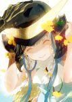 1boy 1girl braid closed_eyes date_masamune_(sengoku_basara) helmet isi88 itsuki_(sengoku_basara) long_hair sengoku_basara silver_hair solo_focus twin_braids
