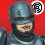 akita_morgue kikai_(akita_morgue) lowres parody peter_weller robocop robocop_(character) tongue what