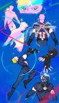 avengers:_age_of_ultron bishoujo_senshi_sailor_moon captain_america facial_mark forehead_mark helmet highres kimeido magical_girl marvel parody steve_rogers superhero transformation