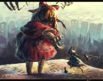 1girl alice_margatroid doll goliath_doll inari_(flandoll-scarlet-devil) marionette puppet puppet_rings red_eyes shanghai_doll touhou