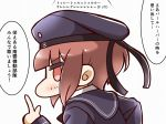 1girl kantai_collection solo tanaka_kusao translation_request z3_max_schultz_(kantai_collection)