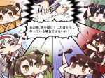 6+girls akagi_(kantai_collection) hiryuu_(kantai_collection) kaga_(kantai_collection) kantai_collection multiple_girls shoukaku_(kantai_collection) souryuu_(kantai_collection) tanaka_kusao translation_request z3_max_schultz_(kantai_collection) zuikaku_(kantai_collection)
