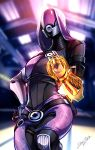1girl dataglitch mass_effect quarian science_fiction solo tali'zorah