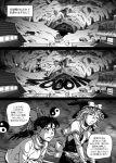 comic flying hakurei_reimu kirisame_marisa ragathol sweater touhou translation_request