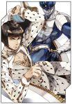 apple972 black_hair blue_eyes border bruno_bucciarati hair_ornament hairclip jojo_no_kimyou_na_bouken shadow sparkle stand_(jojo) sticky_fingers_(stand) zipper