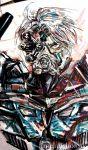 armor bionicle kopaka lego mask melancholiste scope white_hair