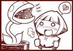 1girl crossover mario_(series) natane_(pokemon) piranha_plant pokemon sougetsu_(yosinoya35) super_mario_bros.