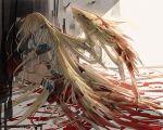 blonde_hair blood guilty_gear millia_rage oro_(sumakaita) prehensile_hair