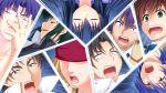 1girl 6+boys angel_beats! fujimaki_(angel_beats!) game_cg hinata_(angel_beats!) matsushita multiple_boys na-ga naoi_ayato noda_(angel_beats!) ooyama_(angel_beats!) shiina_(angel_beats!) takamatsu tk_(angel_beats!)